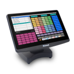 Uniwell's HX-5500 advanced hybrid touchscreen POS terminal - #uniquelyuniwell