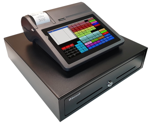 Capital Business Equipment Canberra Uniwell Uniwell4POS All-in-One POS HX-2500-PRD #compactposwithoutcompromise #uniquelyuniwell