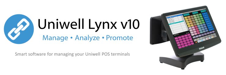 Uniwell Lynx v10 - the ideal back-office software companion for Uniwell HX-series POS terminals Canberra