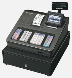 Sharp cash register Canberra